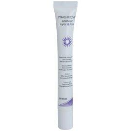Synchroline Synchrovit omlazující krém na kontury očí a rtů (Contour Eyes & Lips; with Vitamin A, Vitamin E, Hyaluronic Acid and Alpha Bisabolol) 15 ml