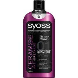 Syoss Ceramide Complex Anti-Breakage champô para cabelos fortes  500 ml