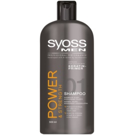 Syoss Men Power & Strength šampon za krepitev las  500 ml