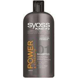 Syoss Men Power & Strength champô para cabelos fortes  500 ml