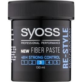 Syoss Re-Style cera para dar definición al peinado para hombre  130 ml