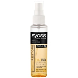 Syoss Supreme Selection Restore sérum para cabelo extremente danificado  100 ml