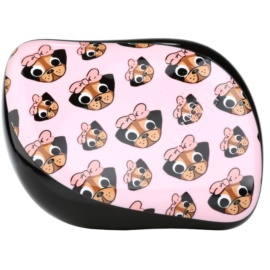 Tangle Teezer Compact Styler Hair Brush Pug Love