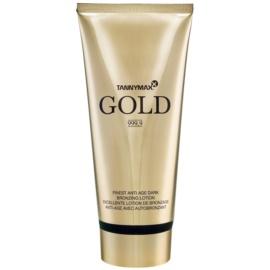 Tannymaxx Gold 999,9 Zonnebrandcrème met Bronzer  200 ml
