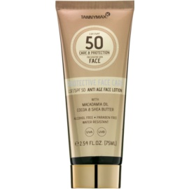 Tannymaxx Protective Body Care SPF Water-Resistant Sun-Protecting Face Lotion SPF 50  75 ml