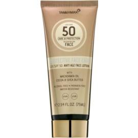 Tannymaxx Protective Body Care SPF waterproof zonnebrandcrème voor het gezicht SPF50  75 ml