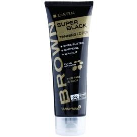 Tannymaxx Brown Super Black Dark krema za sončenje v solariju  125 ml