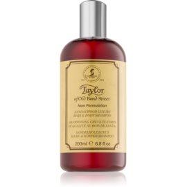 Taylor of Old Bond Street Sandalwood šampon in gel za prhanje  200 ml