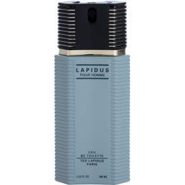 Ted Lapidus Lapidus Pour Homme eau de toilette teszter férfiaknak 100 ml