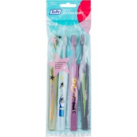 TePe Kids zobne ščetke za otroke ekstra soft 4 kos barvne različice