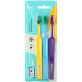 TePe Colour Soft zobne ščetke 3 kos