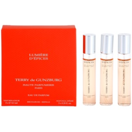 Terry de Gunzburg Lumiere d'Epices Eau de Parfum for Women 3 x 8,5 ml (3x Refill with Vaporiser)
