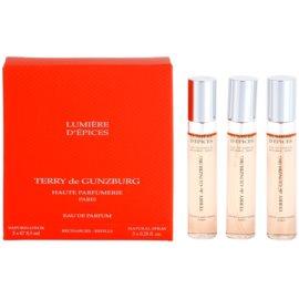 Terry de Gunzburg Lumiere d'Epices parfémovaná voda pro ženy 3 x 8,5 ml (3x náplň s rozprašovačem)