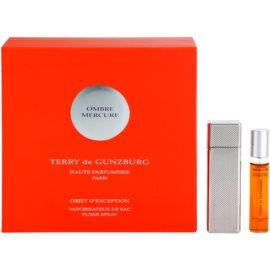 Terry de Gunzburg Ombre Mercure eau de parfum nőknek 2 x 8,5 ml (2x utántöltő szórófejjel) tokkal