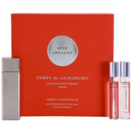 Terry de Gunzburg Reve Opulent parfumska voda za ženske 2 x 8,5 ml (2x polnilo z razpršilcem) + kovinska škatla