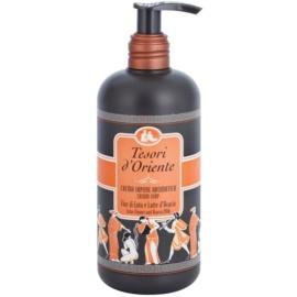 Tesori d'Oriente Lotus Flower & Acacia´s Milk Parfümierte Seife  für Damen 300 ml