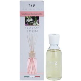 THD Diffusore THD Sandalo e Bergamotto dyfuzor zapachowy z napełnieniem 200 ml