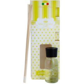 THD Home Fragrances Lemongrass aroma difusor com recarga 100 ml