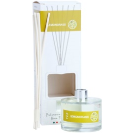 THD Platinum Collection Lemongrass aroma difuzor s polnilom 100 ml