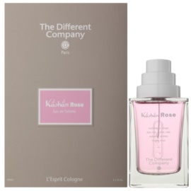 The Different Company L'Esprit Cologne Kâshân Rose Eau de Toilette para mulheres 100 ml recarregável