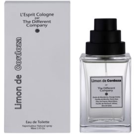The Different Company Limon De Cordoza Eau de Toilette unisex 90 ml