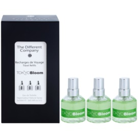 The Different Company Tokyo Bloom Eau de Toilette unisex 3 x 10 ml (3x spray reincarcabil)