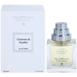 The Different Company Un Parfum De Charmes & Feuilles toaletní voda unisex 50 ml