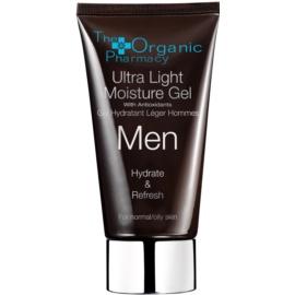 The Organic Pharmacy Men lehký hydratační gelový krém pro normální až mastnou pleť  75 ml