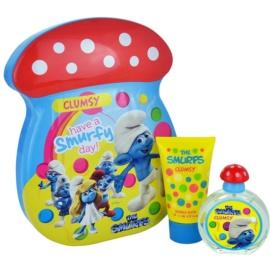 The Smurfs Clumsy zestaw upominkowy I. woda toaletowa 50 ml + Płyn do kąpieli 75 ml