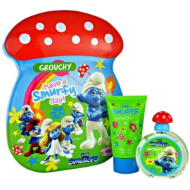 The Smurfs Grouchy Gift Set  I. Eau de Toilette 50 ml + Badschuim 75 ml
