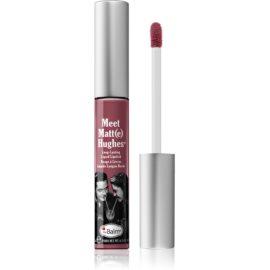 theBalm Meet Matt(e) Hughes długotrwała szminka w płynie odcień Charming 7,4 ml