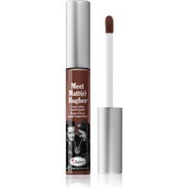 theBalm Meet Matt(e) Hughes długotrwała szminka w płynie odcień Trustworthy 7,4 ml