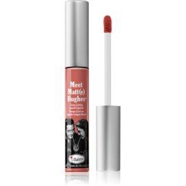 theBalm Meet Matt(e) Hughes długotrwała szminka w płynie odcień Doting 7,4 ml