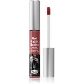 theBalm Meet Matt(e) Hughes długotrwała szminka w płynie odcień Sincere 7,4 ml