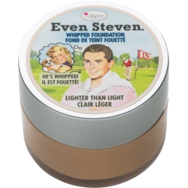 theBalm Even Steven fond de ten sub forma de spuma culoare Lighter Than Light 13,4 ml