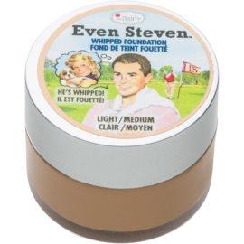 theBalm Even Steven fond de ten sub forma de spuma culoare Light Medium 13,4 ml