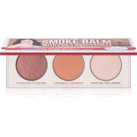 theBalm Smoke Balm with Foil paleta farduri de ochi 7,2 g