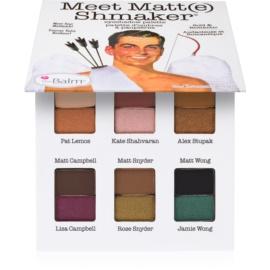 theBalm Meet Matt(e) Shmaker paleta de sombras de ojos  9,6 g