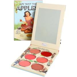 theBalm How 'Bout Them Apples? palete de blushes e batons cremosos  20 g