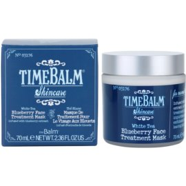 theBalm TimeBalm Skincare Blueberry Face Treatment Mask pečující maska  70 ml