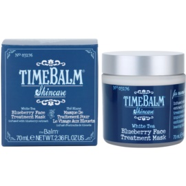 theBalm TimeBalm Skincare Blueberry Face Treatment Mask pflegende Maske  70 ml