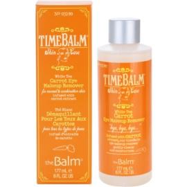 theBalm TimeBalm Skincare Carrot Eye Makeup Remover demachiant pentru ochi pentru piele normala si mixta  177 ml