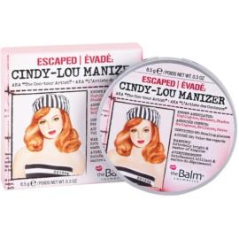theBalm Cindy - Lou Manizer corector iluminator, pudra cu efect de stralucire si fard de ochi intr-unul singur  8,5 g