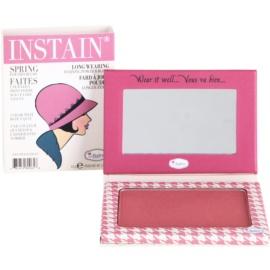 theBalm Instain blush em pó para efeito duradouro tom Houndstooth  6,5 g