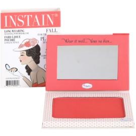 theBalm Instain blush em pó para efeito duradouro tom Swiss Dot  6,5 g