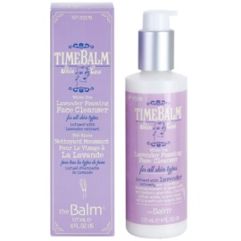 theBalm TimeBalm Skincare Lavender Foaming Face Cleanser schaumiges Reinigungsgel für alle Hauttypen  177 ml