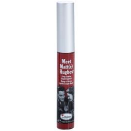 theBalm Meet Matt(e) Hughes dlouhotrvající tekutá rtěnka odstín Charming 7,4 ml
