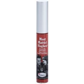 theBalm Meet Matt(e) Hughes długotrwała szminka w płynie odcień Committed 7,4 ml