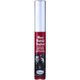 theBalm Meet Matt(e) Hughes dolgoobstojna tekoča šminka odtenek Dedicated 7,4 ml