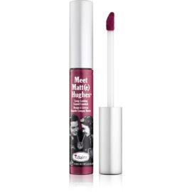 theBalm Meet Matt(e) Hughes dolgoobstojna tekoča šminka odtenek Affectionate 7,4 ml